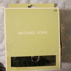 Brand New Michael Kors Cable Boot Socks